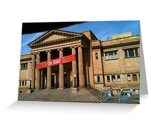 Museum For Sale Greeting Card