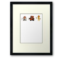 TEAM MICHELANGELO Framed Print