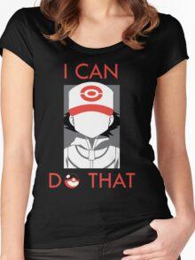20 Years of Pokemon! #TrainOn Women's Fitted Scoop T-Shirt