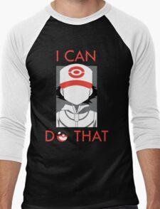 20 Years of Pokemon! #TrainOn Men's Baseball ¾ T-Shirt