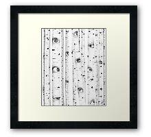 Surrounded - Pen & Ink  Framed Print