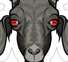 Monochrome Goat Sticker