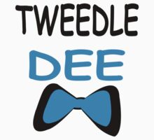 Tweedle Dee-Tweedle Dum Couple T-Shirts by incetelso