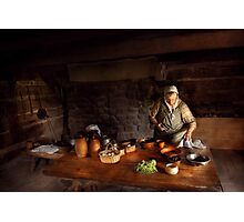 Kirchen - Farm cooking Photographic Print