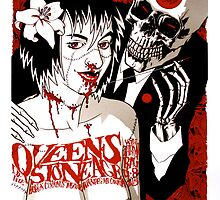 Queens Of The Stone Age Poster - QOTSA by LorcMar