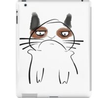 SLIGHTLY ANNOYED CAT iPad Case/Skin
