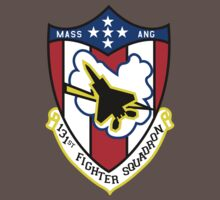 131st Fighter Squadron Emblem ( F-15 ) Baby Tee