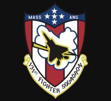 131st Fighter Squadron Emblem ( F-15 ) Kids Clothes