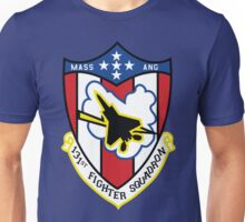 131st Fighter Squadron Emblem ( F-15 ) Unisex T-Shirt