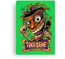 Tiki Time Canvas Print
