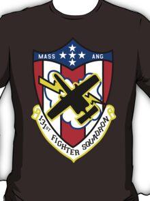 131st Fighter Squadron Emblem ( A-10 ) T-Shirt