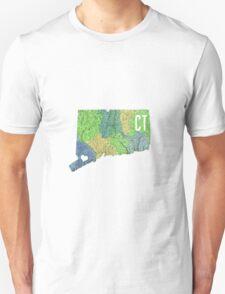 Connecticut- Green Unisex T-Shirt