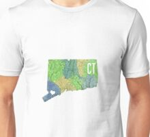 Connecticut- Green Unisex T-Shirt