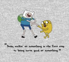 Adventure Time - Fin & Jake - Sorta Good At Something by EMS UK