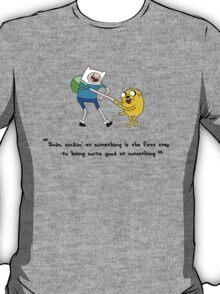 Adventure Time - Fin & Jake - Sorta Good At Something T-Shirt