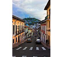 Historic District In Quito, Ecuador Photographic Print