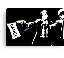 pulp fiction top rated Canvas Print