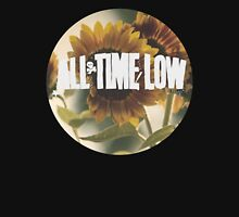 all time low sunflower logo 2 (white) Tank Top