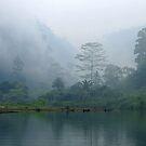 Mist on Kali Biru by Dr Andy Lewis
