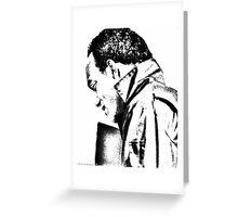 Ken Foree--Pencil Rendering Greeting Card