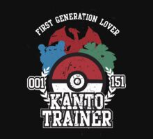 1st Generation Trainer (Dark Tee) by ZandryX