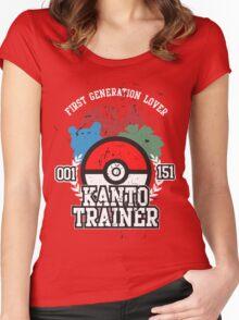 1st Generation Trainer (Dark Tee) Women's Fitted Scoop T-Shirt