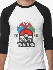 1st Generation Trainer (Dark Tee) Men's Baseball ¾ T-Shirt