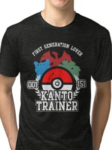 1st Generation Trainer (Dark Tee) Tri-blend T-Shirt