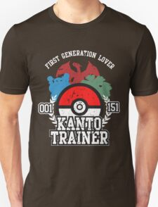 1st Generation Trainer (Dark Tee) Unisex T-Shirt