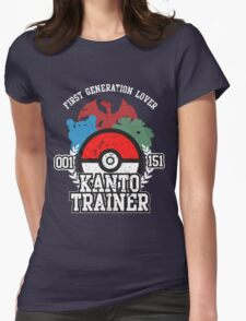 1st Generation Trainer (Dark Tee) Womens Fitted T-Shirt
