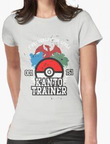 1st Generation Trainer (Dark Tee) Womens Fitted T-Shirt