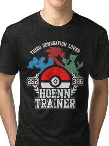 3th Generation Trainer (Dark Tee) Tri-blend T-Shirt