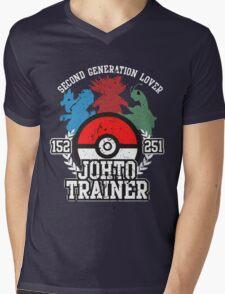 2nd Generation Trainer (Dark Tee) Mens V-Neck T-Shirt