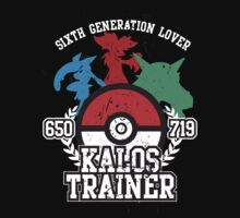 6th Generation Trainer (Dark Tee) by ZandryX