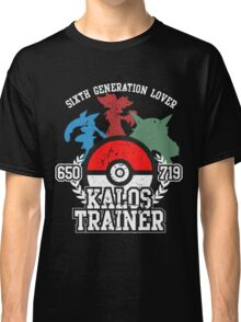 6th Generation Trainer (Dark Tee) Classic T-Shirt