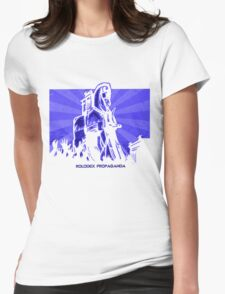 Rolodex Propaganda Womens Fitted T-Shirt