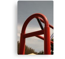Playground Equipment Canvas Print