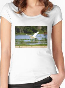 free for the day Women's Fitted Scoop T-Shirt
