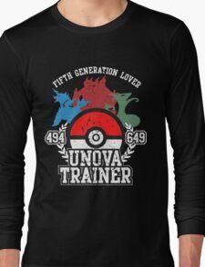 5th Generation Trainer (Dark Tee) Long Sleeve T-Shirt