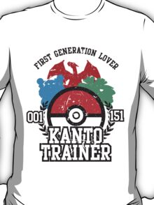 1st Generation Trainer (Light Tee) T-Shirt