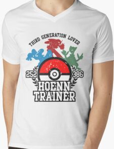 3th Generation Trainer (Light Tee) Mens V-Neck T-Shirt