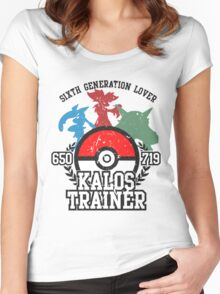 6th Generation Trainer (Light Tee) Women's Fitted Scoop T-Shirt
