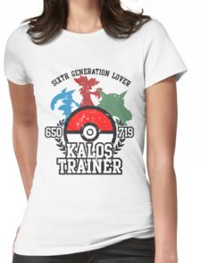 6th Generation Trainer (Light Tee) Womens Fitted T-Shirt