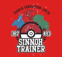 4th Generation Trainer (Light Tee) Baby Tee