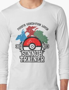 4th Generation Trainer (Light Tee) Long Sleeve T-Shirt