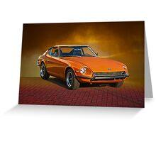 1971 Datsun 240Z Greeting Card