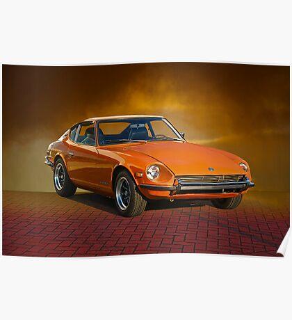 1971 Datsun 240Z Poster