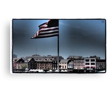 French Quarter Patriot Canvas Print