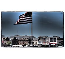 French Quarter Patriot Photographic Print