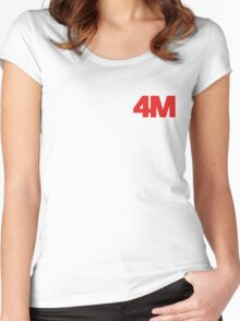 4Minute 4M ACT. 7 Women's Fitted Scoop T-Shirt